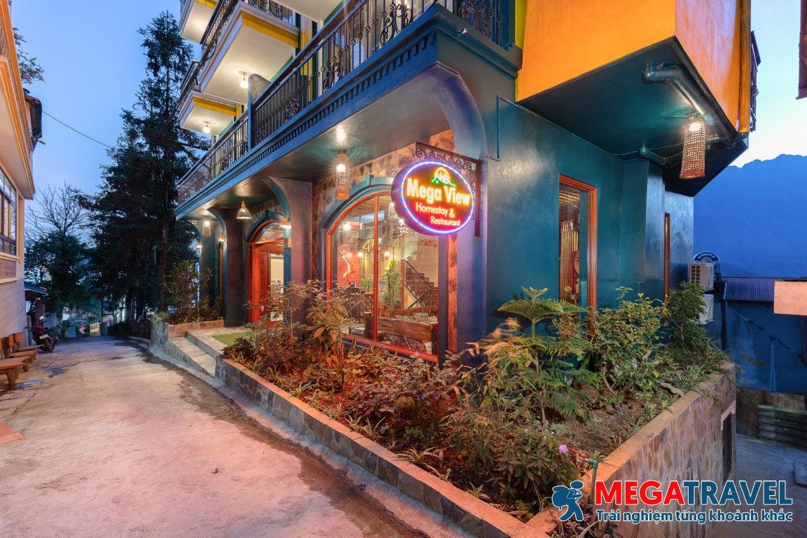 Combo Sapa 2 ngày 1 đêm Mega View Homestay Sapa khởi hành từ Hà Nội